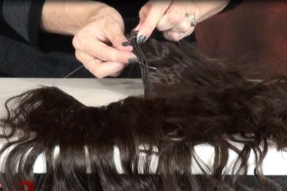 Various types of Halo Hair Extensions