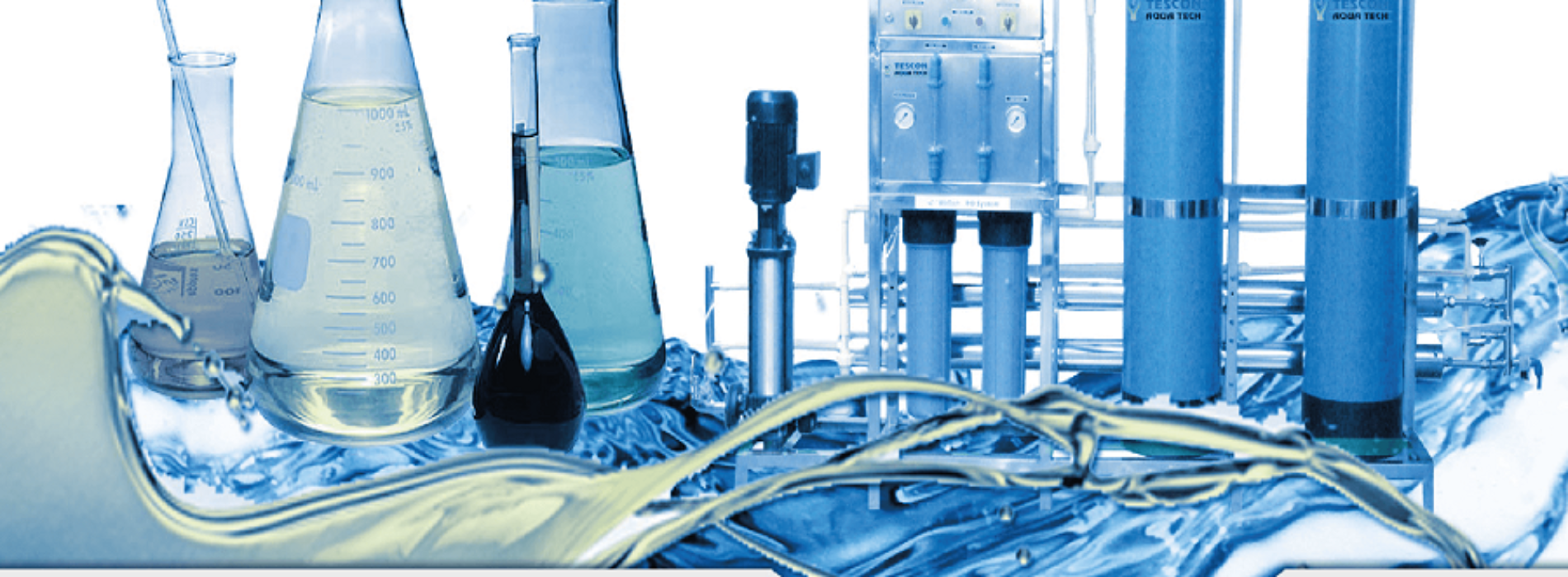 Online services of water treatment companies