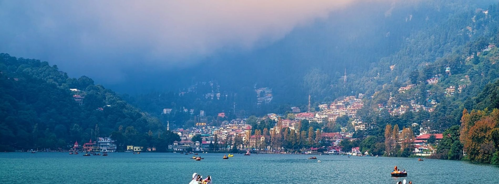How to reach Nainital from Delhi by train